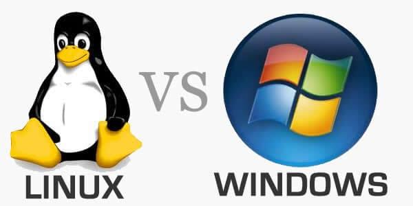 ما هو الفرق بين استضافة linux أو windows